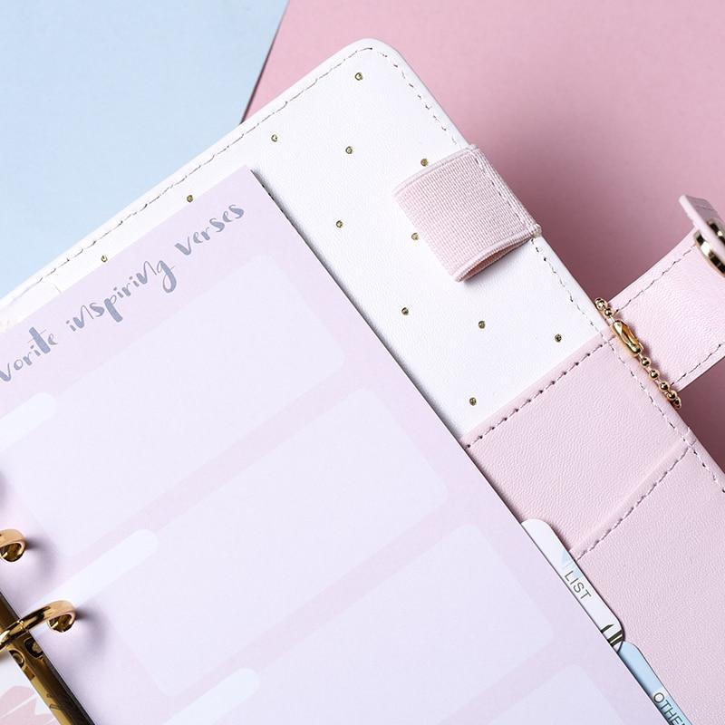 blatt monatlich planer notebook tagebuch lose a5 ring binder wöchentlich