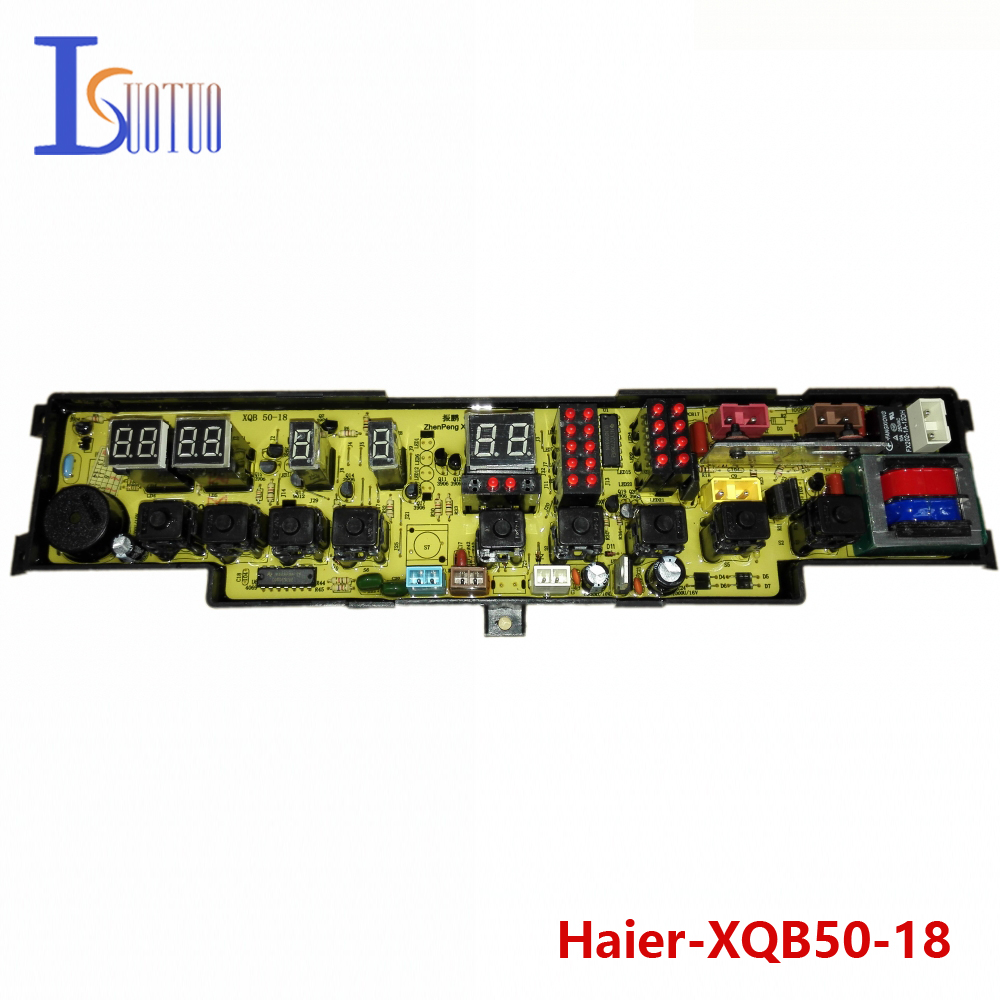 Haier washing machine brand new computer board XQB50-18 XQB50-18B XQB52-18 free shipping 100% tested washing machine board for haier pc board program 50 66gm xqb50 66g xqb50 i xqb52 38 xqb55 a on sale