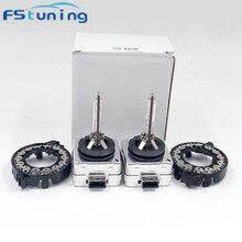 цена на D1S HID Xenon Bulb with D1S hid bulb adapter holder for car xenon headlights D1S D1S adapter holder D1C D1R D1S socket