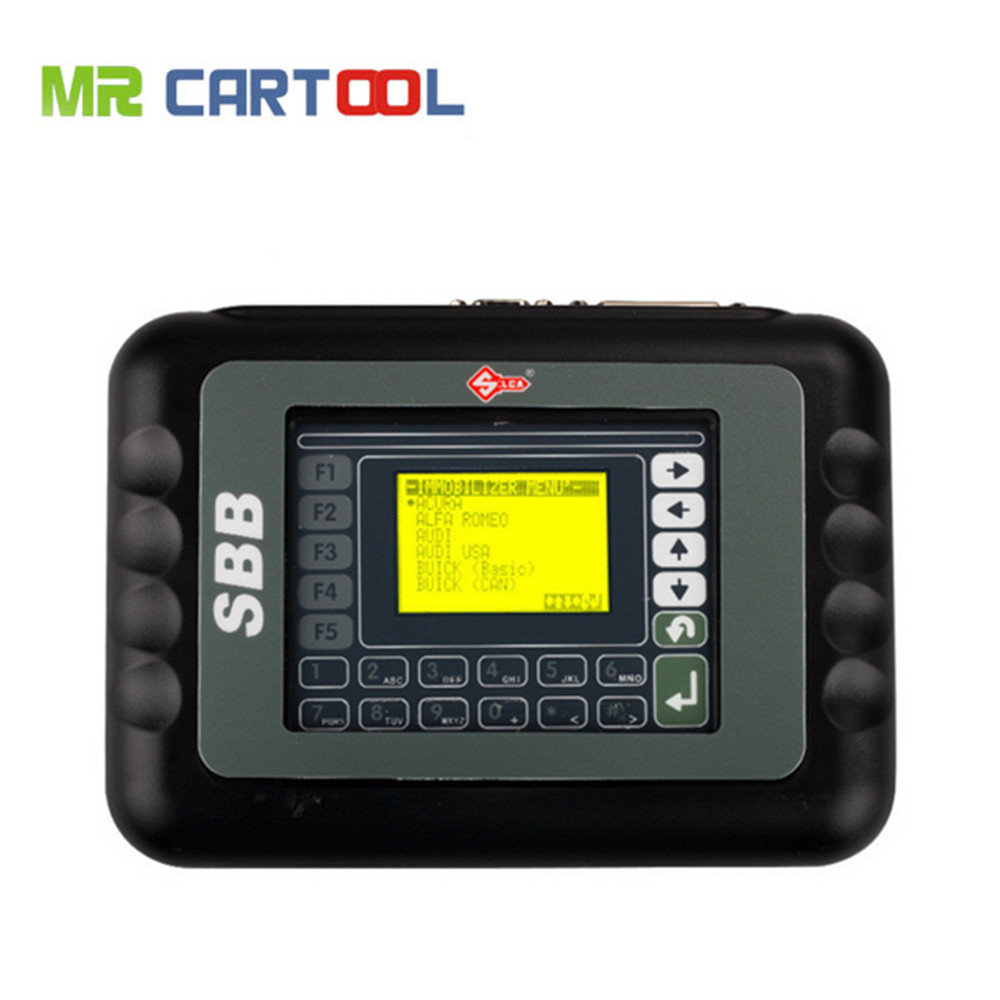 Lowest Price Multi-language Auto Key Maker Newest Version V33 silca SBB Key Programmer hot sale universal silca sbb key programmer v33 02 v33 for multi cars sbb auto key maker by immobilizer no token