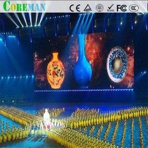Image 5 - 64*64 точки p2.5 Светодиодная панель 160x160 светодиодный дисплей модуль p2 светодиодный шкаф p2 рекламный сценический светодиодный дисплей экран модуль