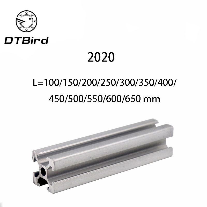 4pcs/lot 2020 Aluminum Profile 2020 Extrusion European Standard Anodized Linear Rail Aluminum Profile 2020 3D Printer Parts4pcs/lot 2020 Aluminum Profile 2020 Extrusion European Standard Anodized Linear Rail Aluminum Profile 2020 3D Printer Parts