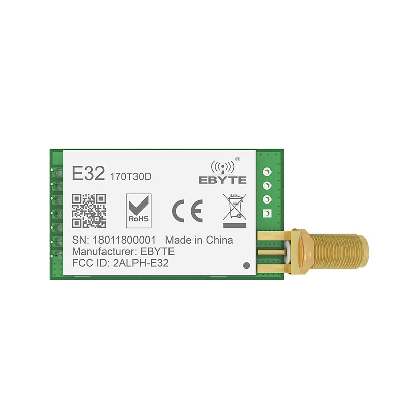 Image 3 - E32 170T30D LoRa SX1278 SX1276 170MHz rf Module 1W 170 MHz UART Wireless Transceiver Long Distance SMA k Antenna-in Fixed Wireless Terminals from Cellphones & Telecommunications