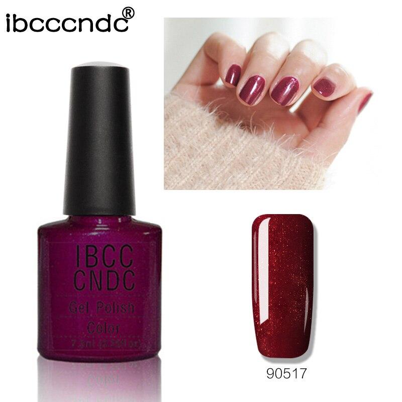 IBCCCNDC UV nehty Gel lesklý lak na nehty lepidlo salon nehtů - Manikúra