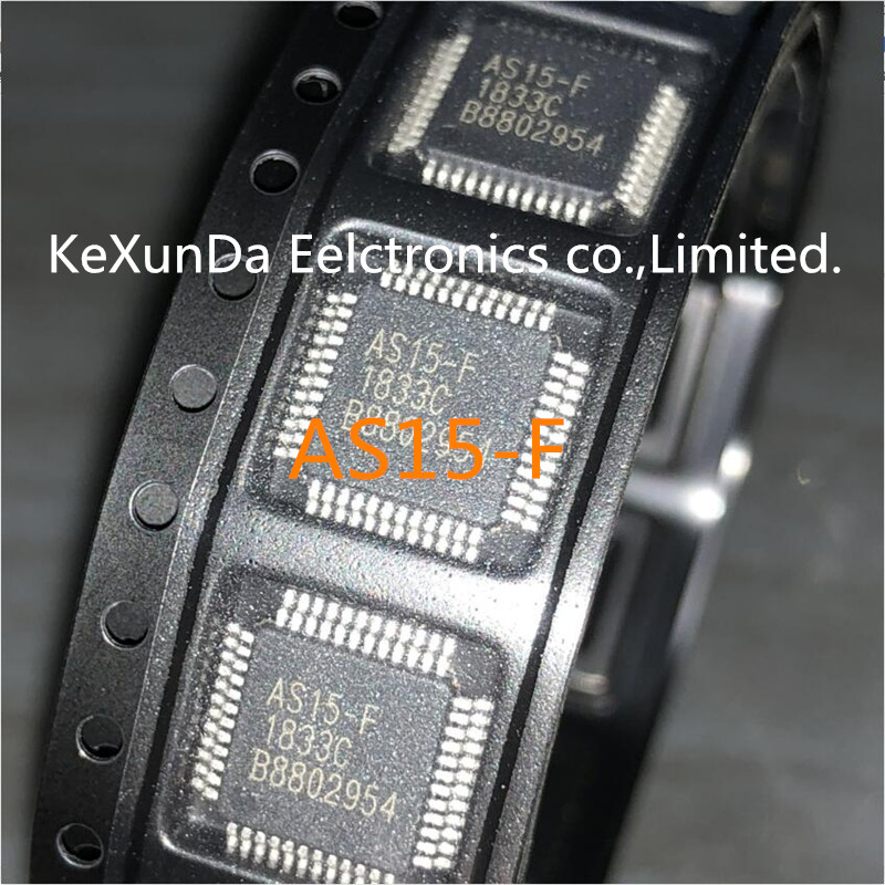 Original 100PCS AS15 F AS15F AS15 TQFP 48 IC LCD CHIP NEWEST IN STOCK FREE SHIPPING
