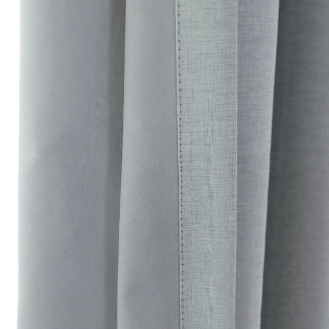 100% Solid Blackout Curtain 5