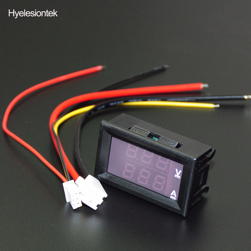 5A LED Drive Lithium battery charger mit Voltmeter Ammeter DCDC module ER