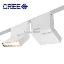 6 ワット LED ダウンライトの表面実装ダウンライト LED ホーム照明角度調整可能な 180 度回転した天井スポットライト黒、白