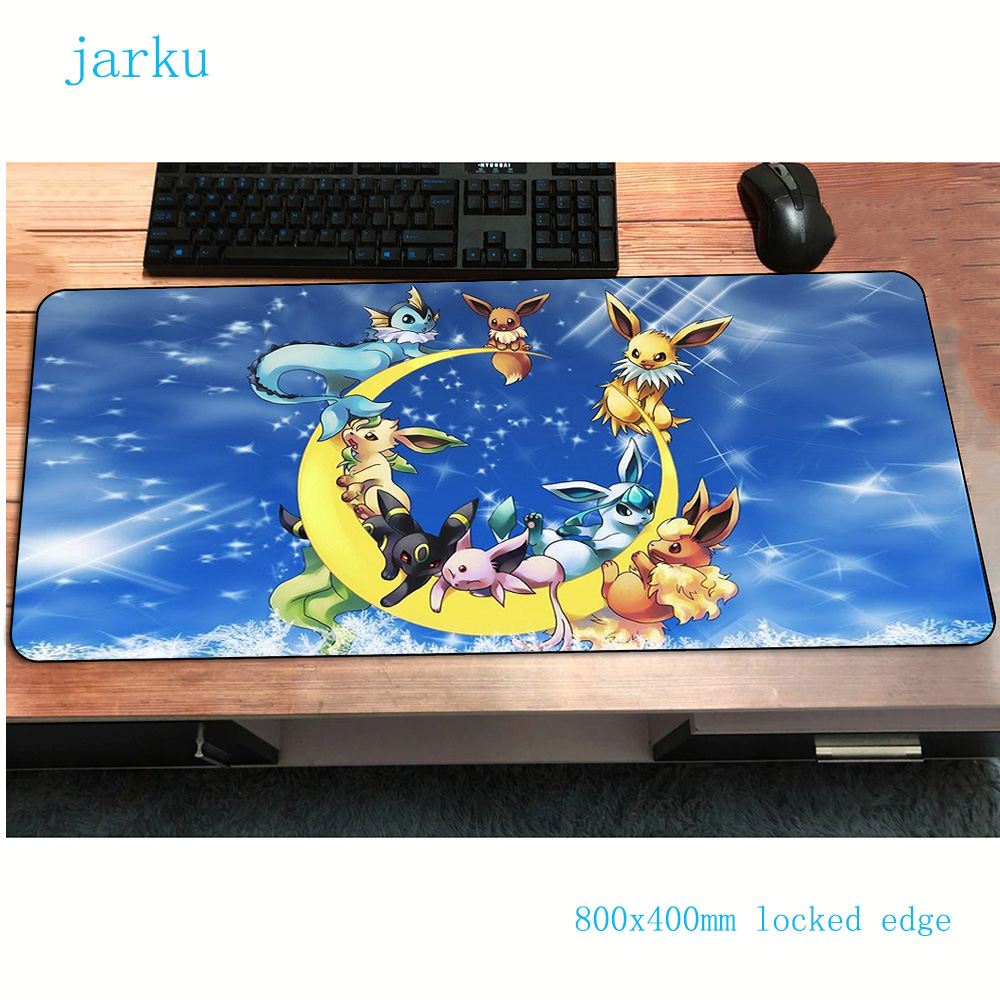Pokemons Mouse Pad Big Pad To Mouse Notbook Computer Mousepad Halloween Gift Gaming Padmouse Gamer To Laptop Keyboard Mouse Mats