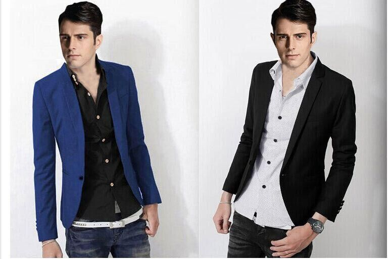 Aliexpress.com : Buy 2014 Men's Blazers Fashion Slim Casual Wear