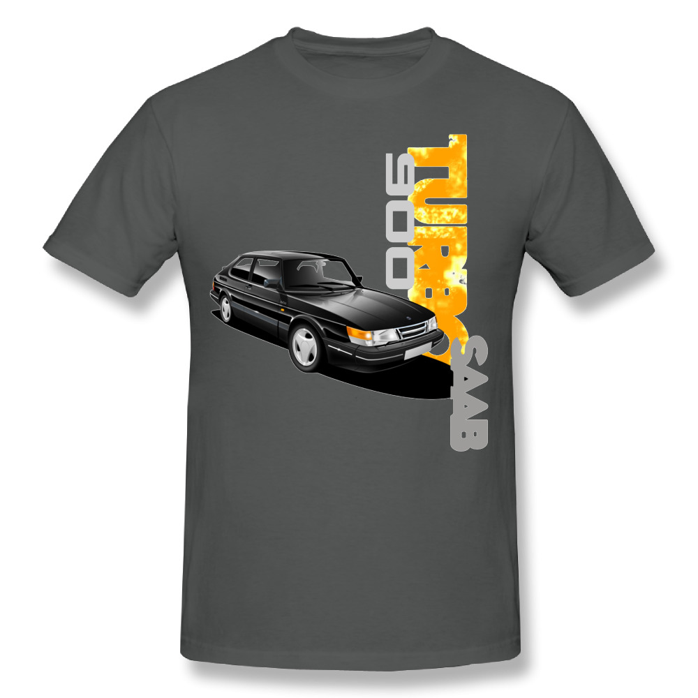 Cool Saab 900 Turbo Scania T shirt New Arrival Mens Round Neck Design Summer Tees