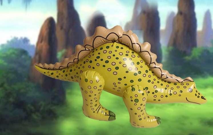Надувной динозавр ПВХ модель животных моделирования детская Игрушечные лошадки детский сад игровой деятельности реквизит