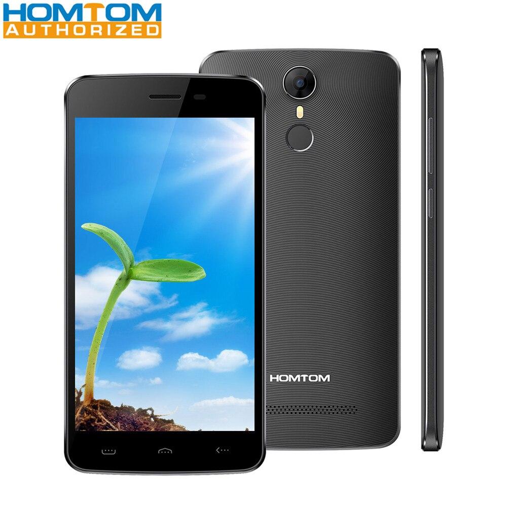 bilder für HOMTOM HT27 5,5 zoll 3G Telefon Android 6.0 MTK6580 Quad Core 1 GB RAM 8 GB ROM 5MP 8MP Kameras Fingerprint Sensor Handy