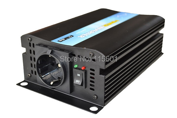 DC12V -48v to AC110V -240V 300w portable pure sine wave car inverter, one warranty, factory hot sale,CE&ROHS Approved