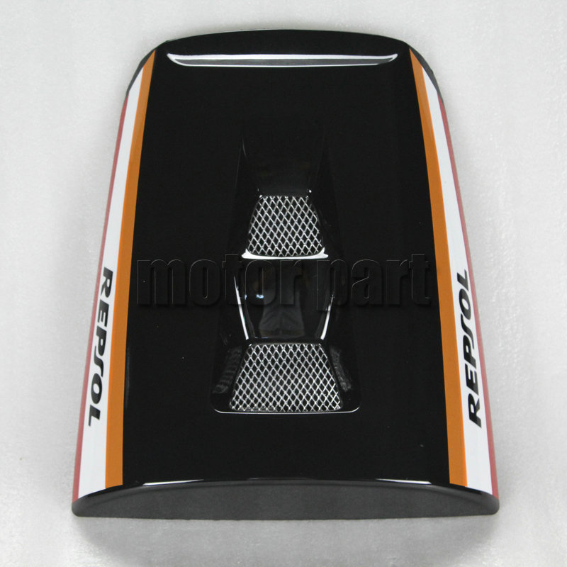 For 2004 2005 2006 2007 Honda CBR1000RR CBR 1000RR 1000 RR Motorcycle Pillion Rear Seat Cover Cowl Black Repsol 04 05 06 07 for 2002 2005 kawasaki ninja zx9r zx 9r motorcycle rear passenger seat cover cowl black 01 02 03 04 05