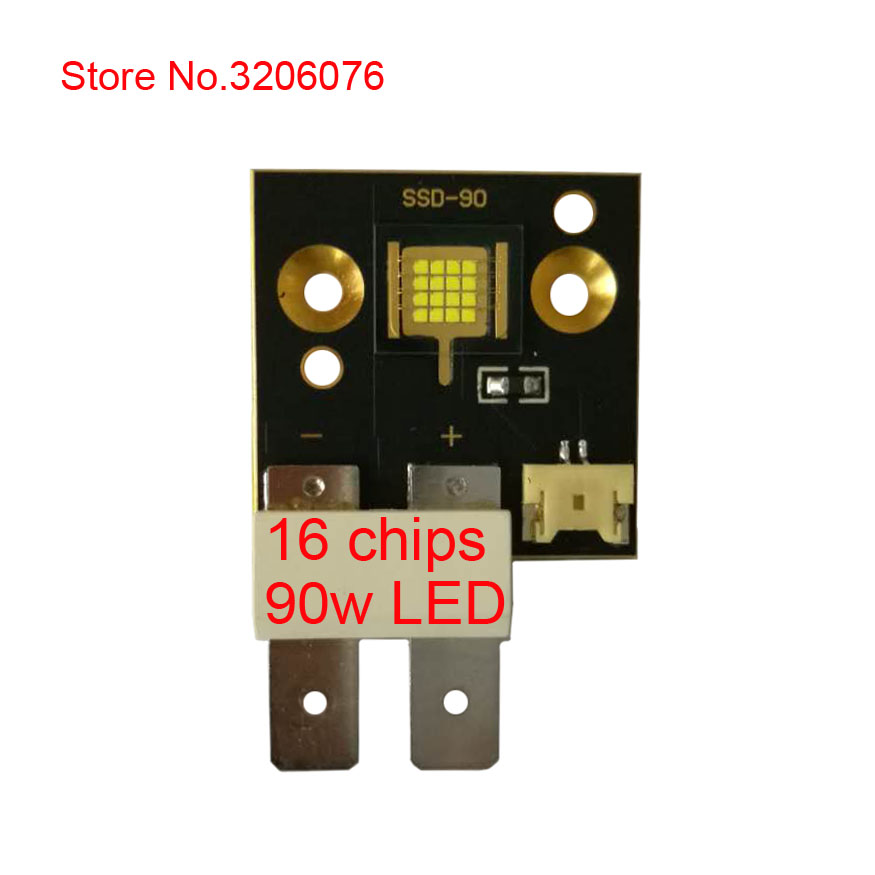 Happy New Year 2018 made in China COB LED 16 chips SSD-90 90w beads // stage moving head light high-power lighting source fn372 6 21 filters beads and chips mr li