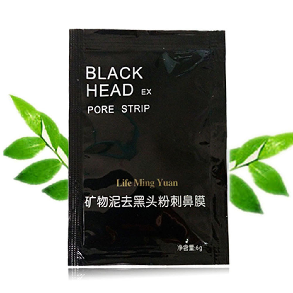 Facial Mask Nose Blackhead Mask Black Deep Cleansing Purifying Blackhead Pore Removal Peel-off Facial Mask Unisex Mask #40