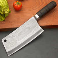 Stainless Steel Kitchen Chopping Knife Sharp Kitchen Knife For Chop Bone Fish Professional Chinese Kitchen Chef Knife