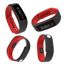 W8 Водонепроницаемый IP67 Смарт часы-браслет Heart Rate Мониторы SmartBand PK fit бит mi Группа 2 для Iphone Android