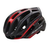 Mens Scohiro Mtb Mountain Road bike Helmet Led warning light Bicycle Helmet casco ciclismo Cycling Helmet bicicleta carretera