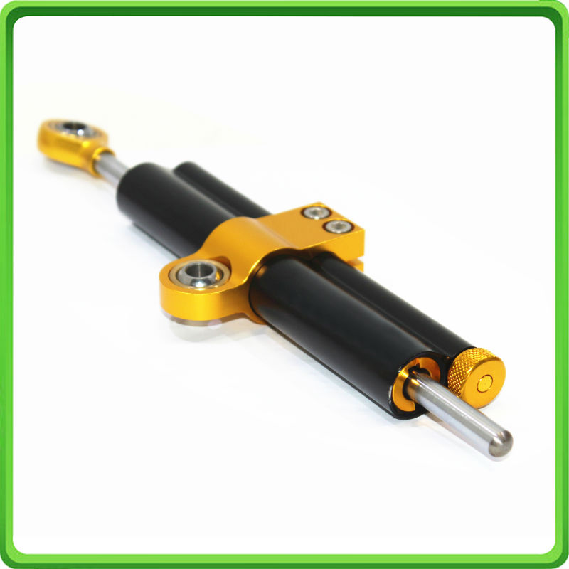 AMTA Racing 63mm Piston Type Steering Damper Stabilizer For YAMAHA R6 06 - 16 2007 2008 2009 2010 2011 2012 2013 2014 2015 BLACK