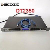 Leicozic DT2350 Pro digital class d amplifier rack mount switching power supply amplifier 350w RMS 550w power amplifier digital