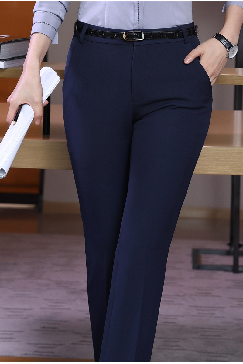 HTB1WVADSFXXXXXHapXXq6xXFXXXm - Naviu new Fashion high quality women trousers Plus Size Formal office Pants for Office Lady Style Straight bottom