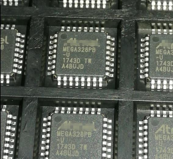 10/PCS LOT ATMEGA328PB-AU  ATMEGA328PB  QFP32  NEW