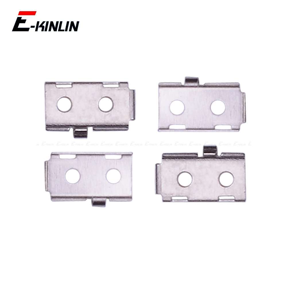 5pcs/lot For IPhone 5S SE Touch ID Home Button Flex Cable Connector Bracket Shield Metal Replacment Parts