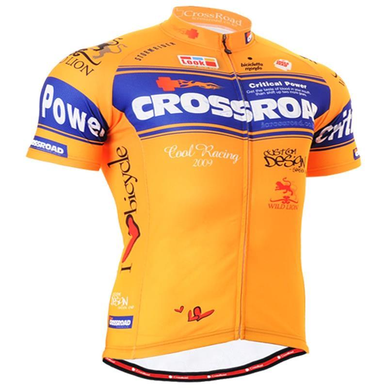 Verano hombres Ciclismo Jersey Transpirable Seco Corto Manga Bicicleta Jersey Ca