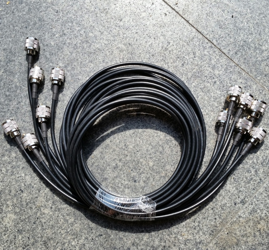 100CM UHF male plug PL259 SL16 male to SL16 male plug RF Pigtail Jumper Coaxial Cable RG58 1pcs 5m coaxial cable uhf pl 259 male to female for motorola mobile radio antenna vhd35 t50