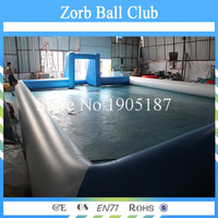 Free Shipping 16x10m Inflatable Football Field,Soccer Football Field For Sale,Inflatable Soap Soccer Court