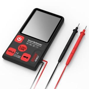 Image 4 - مقياس رقمي متعدد محمول فائق BSIDE ADMS7 شاشة LCD مقاس 3.5 بوصات قياس 3 خطوط الفولتميتر مع الجهد NCV المقاومة أوم هرتز فاحص