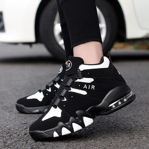 Image 5 - Basketball Shoes Men High top Sports Cushioning Basketball Sneakers Athletic Mens Shoes Comfortable Breathable Retro Sneakers