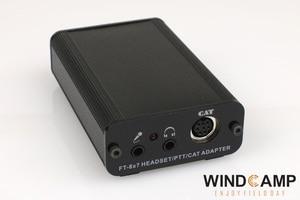 Image 3 - 1 szt. Konwerter CAT YAESU FT 817/857/897 konwerter PTT/adapter słuchawkowy