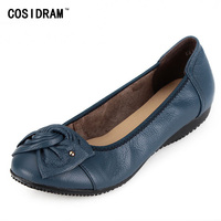 New Women S Flats Shoes 2015 Brand Genuine Leather Flat Shoes Woman Moccasins Female Causal Driving