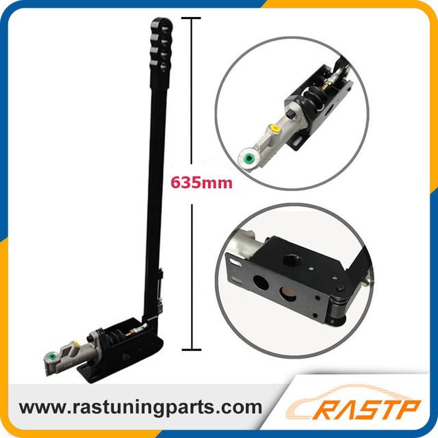 RASTP-Long Handle (635mm Comprimento) Vertical de Corrida Deriva Hidráulico Handbrake Freio de Mão E LS-HB005L