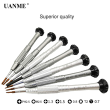 UANME High Quality Screwdriver for iPhone X 8 7 6S 6 5 4 Repair Tools Opening Disassemble Kit Mobile Phone Tool