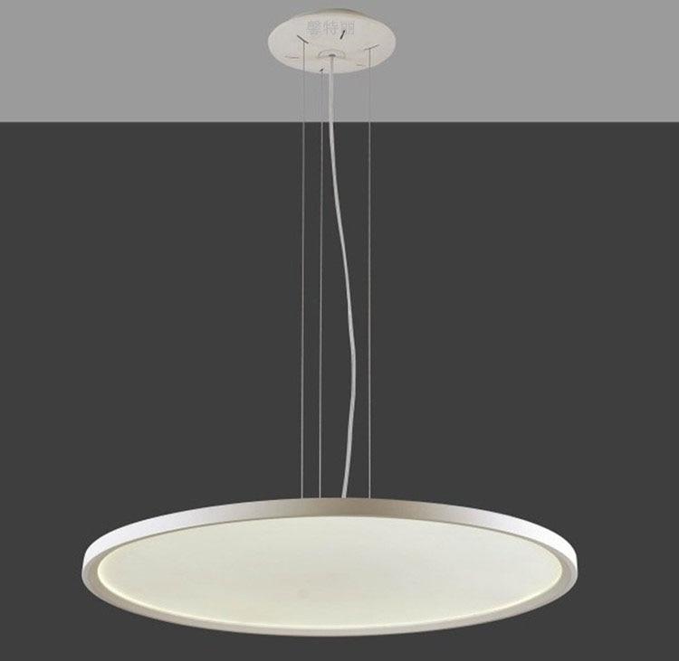 Ultra-thin LED Pendant panel light acrly Pendant lights for office dining room pendente ilumina o sala de jantar