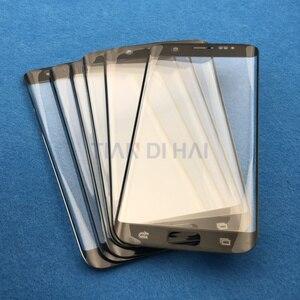 Image 4 - Yedek Harici Cam Samsung Galaxy S7 Kenar G935 S6 Kenar G925F dokunmatik LCD ekran Ekran Ön Cam Dış Lens