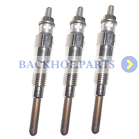 3pcs Glow Plug 16851 65510 for Kubota D905 D902 D1105 V1505 Engine
