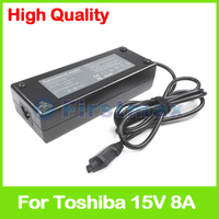 For Toshiba 15V 8A 120W laptop AC adapter charger PA3237U 1ACA for Toshiba Satellite A20 A25 A40 A45 Pro A40|ac adapter laptop charger|ac adapter charger|ac adapter for car charger -