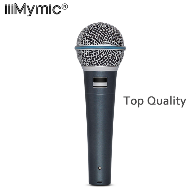 Top quality Capsule and Heavy Body BT 58 Clear Sound B 58A Handheld Vocal Wired Microphone Studio Microfone Mike Mic