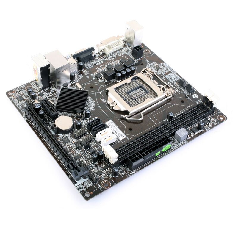 C.H81-DV V20 all solid-state H81 motherboard 1150 small board desktop motherboard z97m d3h z97 lga1150 matx all solid game board board