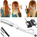 Ultrasonic Hot Vibrating Razor Heated Vibrating Hot Razor for Hair Cut Styling Avoid Split Ends