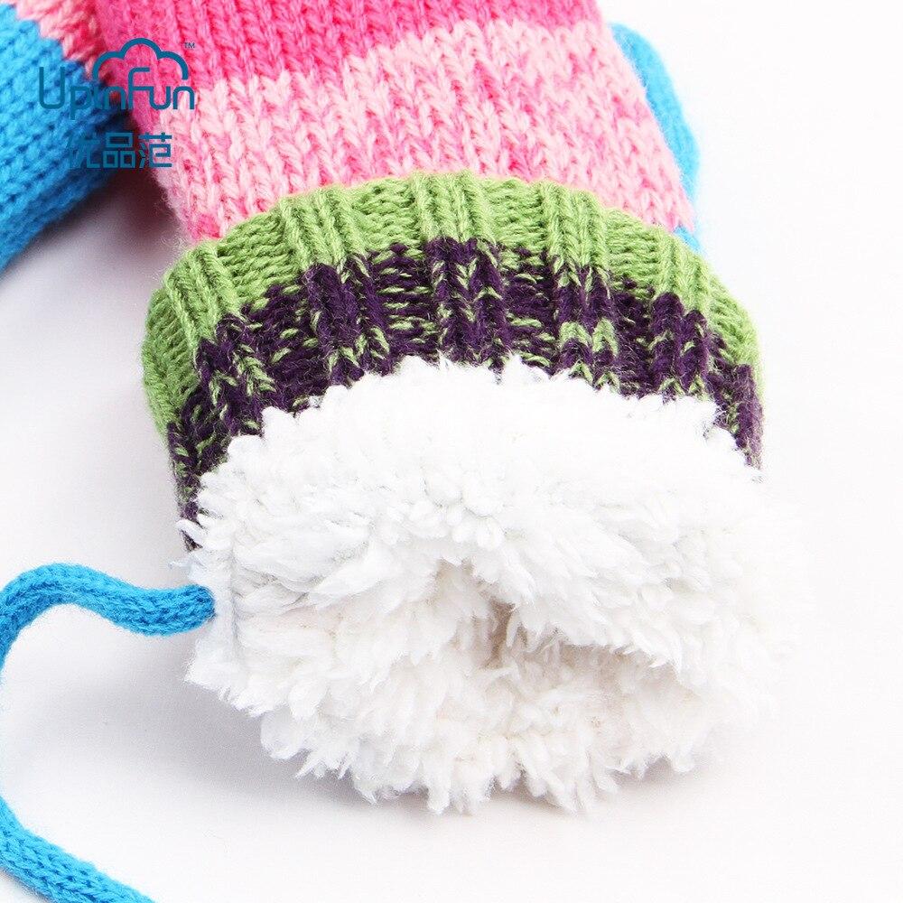3 unids/set regalos lindo Unisex invierno guante bufanda sombrero ...