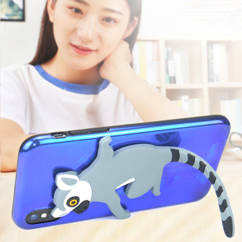 Cute Animal Wall Mounted Hook Key Cable Holder Storage Removable 3