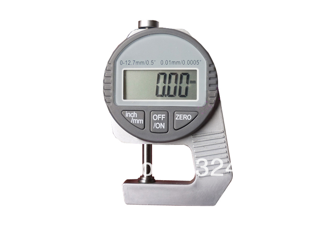Portable Digital Thickness Gauge gauge liquid thickness of pvc pipes gauge led - title=