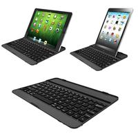 NEW HOT Selling Silver An Black Aluminum Bluetooth Stand Keyboard Case Dock For New Apple IPad