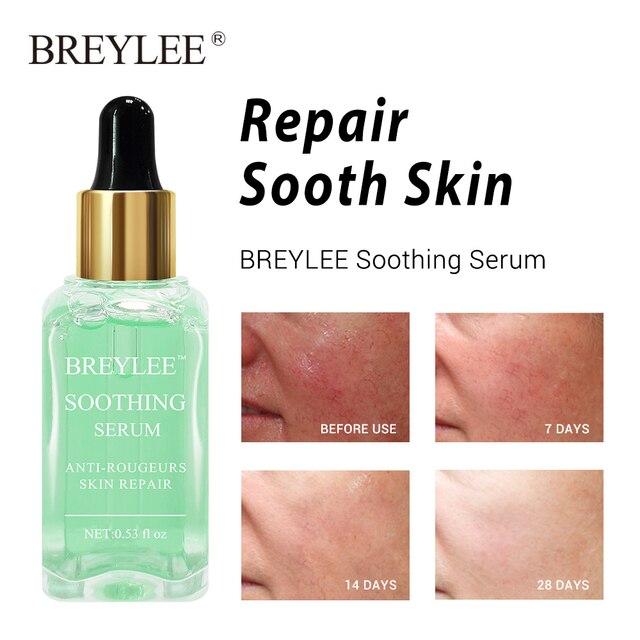 BREYLEE 2pcs Soothing Repairing Serum Repair Lifting Firming Face Skin Care Collagen Whitening Anti aging Wrinkles